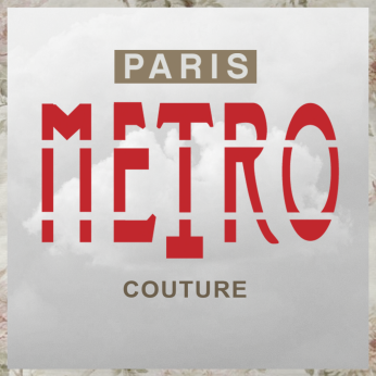 Paris METRO Couture Logo