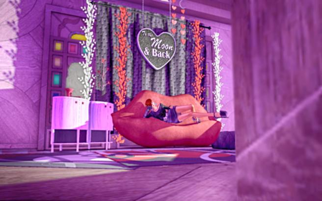 "Circa - ""Kiss Me"" Valentine Room Collection."