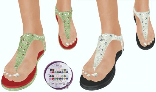 Slipper - Luna Sandals Fat Pack