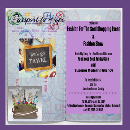 PASSPORT TO HOPE RFL SHOPPING EVENT 90