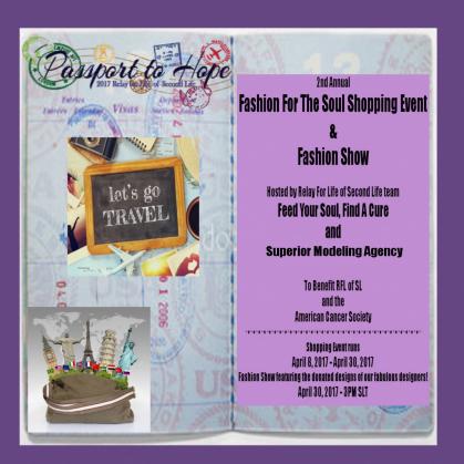 PASSPORT TO HOPE RFL SHOPPING EVENT 90