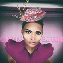 WISH Heather Chapeau Texture change Hat by Couture Chapeau