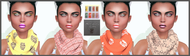 GDit - Carol Vintage neck scarf with HUD