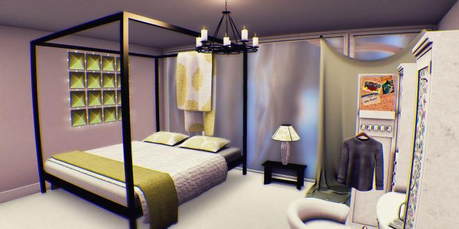 Kaeri Peony Bed Side Table Lamp