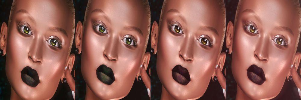 Mesange Eyes and Kosmetik's lipstick colors
