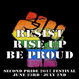 Second Pride 2017 - Poster