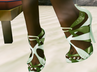KC Couture Faith Heels at Designer Showcase